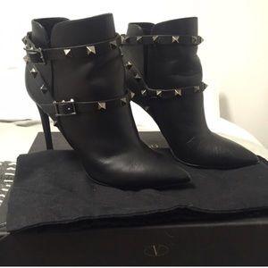 Valentino Rock Stud Booties size 36.5